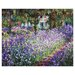 <strong>Epic Art</strong> Irises in Monet's Garden Painting Print on Canvas