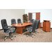 "120"" x 47""  Racetrack Conference Table Office  Set"