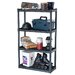 "<strong>56.25"" H 4 Shelf Shelving Unit</strong> by Plano Molding"