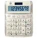 Teledex Big Number Dual Power Desktop Calculator