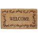 <strong>Welcome Filigree Doormat</strong> by J and M Home Fashions