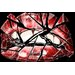 "<strong>""Shattered Lips"" Graphic Art on Canvas</strong> by Maxwell Dickson"