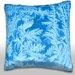 Maxwell Dickson Elegant Pattern of Frost on Window Throw Pillow