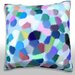 Maxwell Dickson Abstract Character Throw Pillow