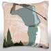 <strong>Golfer Swinging Golf Club Throw Pillow</strong> by Maxwell Dickson