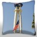 World Tower, Los Angeles Throw Pillow by Maxwell Dickson