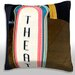 <strong>High Section View of a Theater Sign, Chicago Illinois Throw Pillow</strong> by Maxwell Dickson