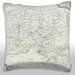 Maxwell Dickson Antique Map of County of Oxfordshire in England Throw Pillow