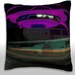 <strong>Los Angeles Airport Control Tower and Buildings Throw Pillow</strong> by Maxwell Dickson