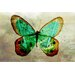 Maxwell Dickson Butterfly Graphic Art on Canvas