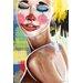 Maxwell Dickson Tears of a Clown Painting Print on Canvas