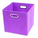 Color Pop Folding Storage Bin
