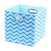 <strong>Sky Zig Zag Folding Storage Bin</strong> by Modern Littles