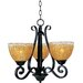 Maxim Lighting Barcelona 3 Light Mini Chandelier