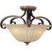<strong>Wildon Home ®</strong> Chapelle 3 - Light Semi - Flush Mount