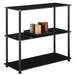 "<strong>Convenience Concepts</strong> Midnight 26.5"" Bookcase"