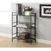 XTRA Storage 3 Tier Wide Folding Shelf in Black