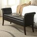 <strong>Designs 4 Comfort Leather Storage Bench</strong> by Convenience Concepts
