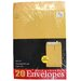 <strong>Norcom Inc</strong> 20 Count Kraft Envelopes