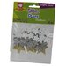<strong>Fibre-craft Materials Corp</strong> Glitter Star Stickers (45 Count)