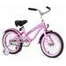 "<strong>Girl's 16"" Mini Bella Beach Cruiser Bicycle</strong> by Beachbikes"