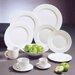 """Ten Strawberry Street Classic White 11"""" Dinner Plate"""