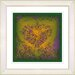 """<strong>""""Filigree Heart"""" by Zhee Singer Framed Giclee Print Fine Art in Gold</strong> by Studio Works Modern"""
