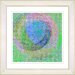 "<strong>Studio Works Modern</strong> ""Neo Geo"" by Zhee Singer Framed Giclee Print Fine Art in Blue"
