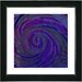 "<strong>Studio Works Modern</strong> ""Hybrid Histor""y by Zhee Singer Framed Giclee Print Fine Art in Blue and Purple"