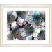 "<strong>""Spring Flowers - Blue"" by Zhee Singer Framed Fine Art Giclee Print</strong> by Studio Works Modern"