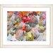 "<strong>Studio Works Modern</strong> ""Nasturtiums - Orange"" by Zhee Singer Framed Fine Art Giclee Print"