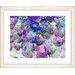 "<strong>Studio Works Modern</strong> ""Nasturtiums - Blue"" by Zhee Singer Framed Fine Art Giclee Print"