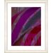 "<strong>""Cinnabar - Purple"" by Zhee Singer Framed Fine Art Giclee Print</strong> by Studio Works Modern"