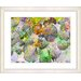 "<strong>""Nasturtiums - Green"" by Zhee Singer Framed Fine Art Giclee Print</strong> by Studio Works Modern"