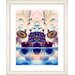"""<strong>""""Cut Crystal Fruit - Blue"""" by Zhee Singer Framed Fine Art Giclee Print</strong> by Studio Works Modern"""