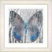 "<strong>Studio Works Modern</strong> ""Dusk Butterfly - Blue"" by Zhee Singer Framed Fine Art Giclee Print"