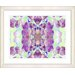 """<strong>""""Tide of Time Floral - Grape"""" by Zhee Singer Framed Fine Art Giclee...</strong> by Studio Works Modern"""