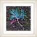 "<strong>Studio Works Modern</strong> ""Bliss Floral - Blue"" by Zhee Singer Framed Fine Art Giclee Print"