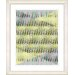 "<strong>Studio Works Modern</strong> ""Pastel Placidus - Yellow"" by Zhee Singer Framed Fine Art Giclee Print"