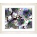 "<strong>Studio Works Modern</strong> ""Spring Flowers - Purple"" by Zhee Singer Framed Fine Art Giclee Print"