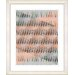 "<strong>Studio Works Modern</strong> ""Pastel Placidus - Orange"" by Zhee Singer Framed Fine Art Giclee Print"