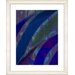 "<strong>""Cinnabar - Blue"" by Zhee Singer Framed Fine Art Giclee Print</strong> by Studio Works Modern"
