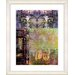 "<strong>Studio Works Modern</strong> ""Bustle - Yellow"" by Zhee Singer Framed Fine Art Giclee Print"