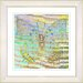"<strong>Studio Works Modern</strong> ""Pastel Butterfly"" by Zhee Singer Framed Graphic Art"