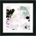 """Breeze Floral"" Framed Fine Art Giclee Print"