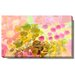 """Orange Flowers and Berries"" Gallery Wrapped Canvas Wall Art"