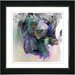"<strong>Studio Works Modern</strong> ""Smoke Grey Water Dance"" by Zhee Singer Framed Painting Print"