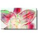 Studio Works Modern Snow Flower Gallery Wrapped by Zhee Singer Painting Print on Canvas