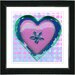 "<strong>Studio Works Modern</strong> ""Heart"" by Zhee Singer Framed Graphic Art"