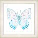 """<strong>""""White Butterfly"""" by Zhee Singer Framed Graphic Art</strong> by Studio Works Modern"""